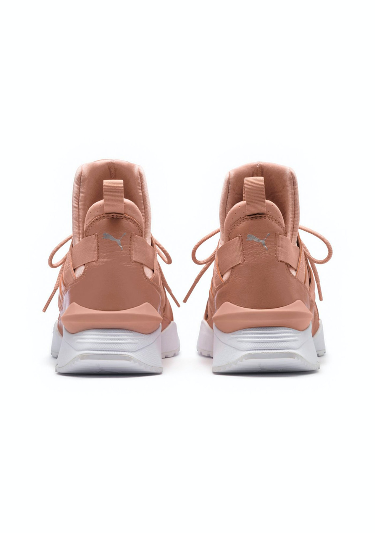 0dd3521756c04a Puma Womens - Muse Echo Satin Ep Peach - Puma Womens   Kids Up to 60% Off -  Onceit