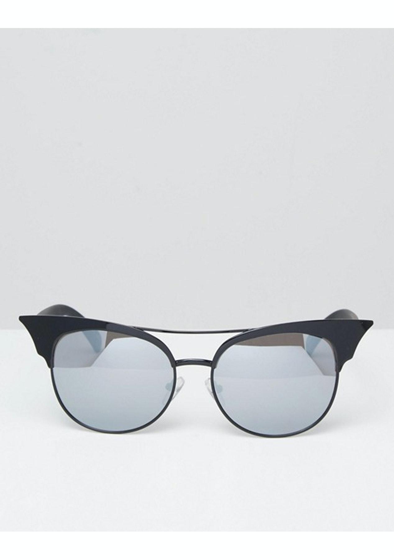 dab77c8086 Quay Australia Zig Sunglasses - Black Silver Mirror - Quay Australia Eyewear  From  29.95 - Onceit