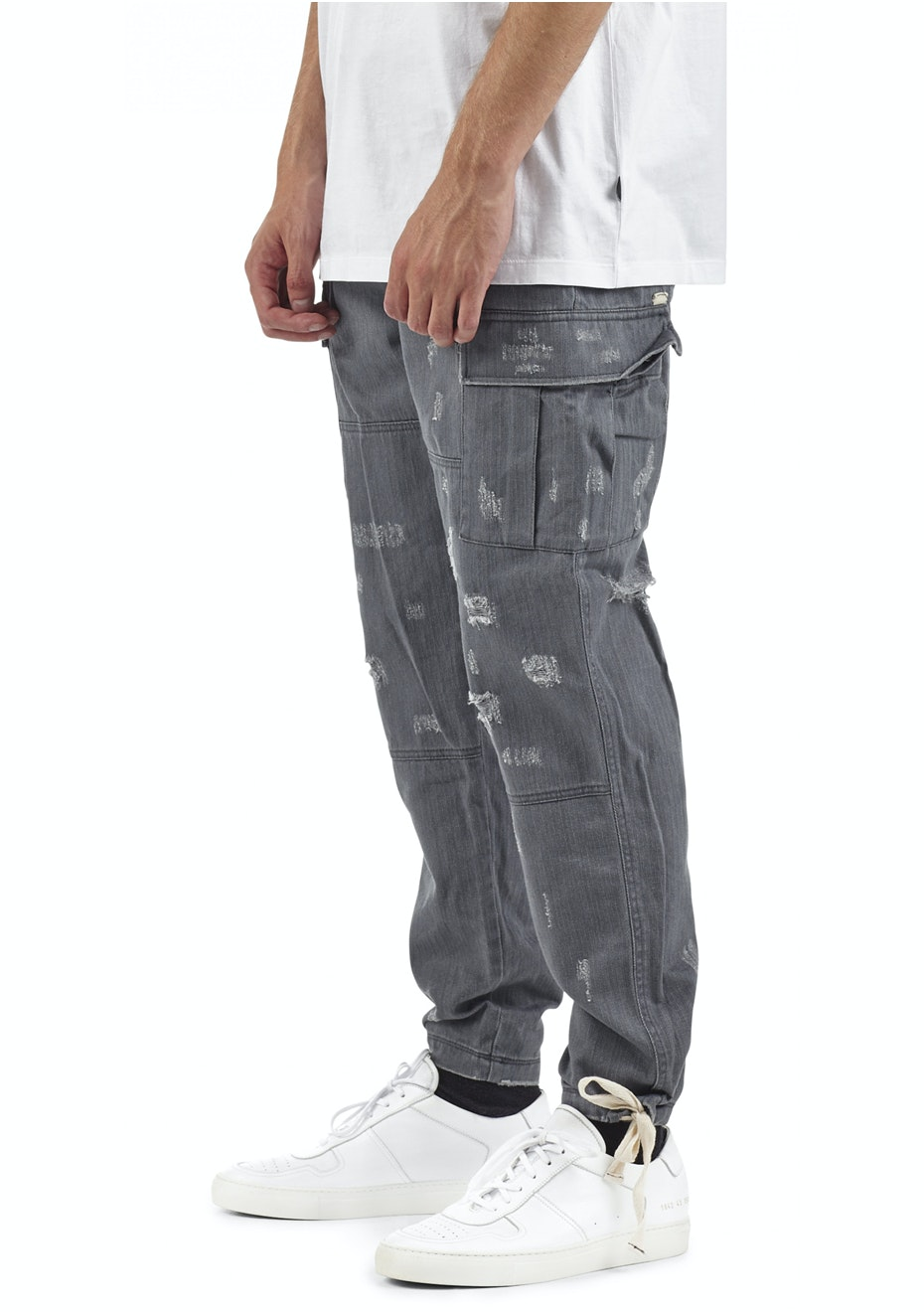 I Love Ugly - Cargo Pant - Charcoal
