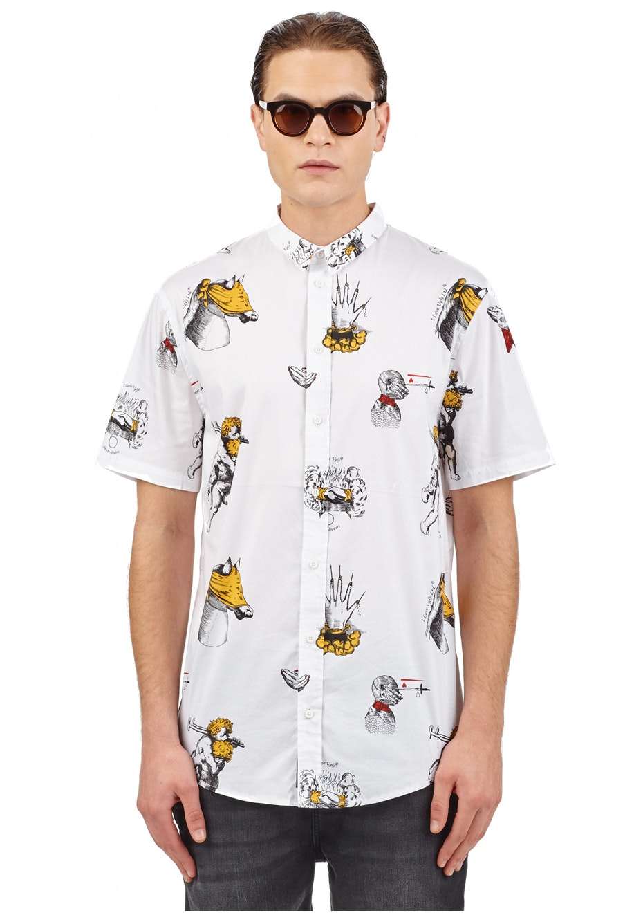 I Love Ugly - Cold Blooded Ss Shirt - White
