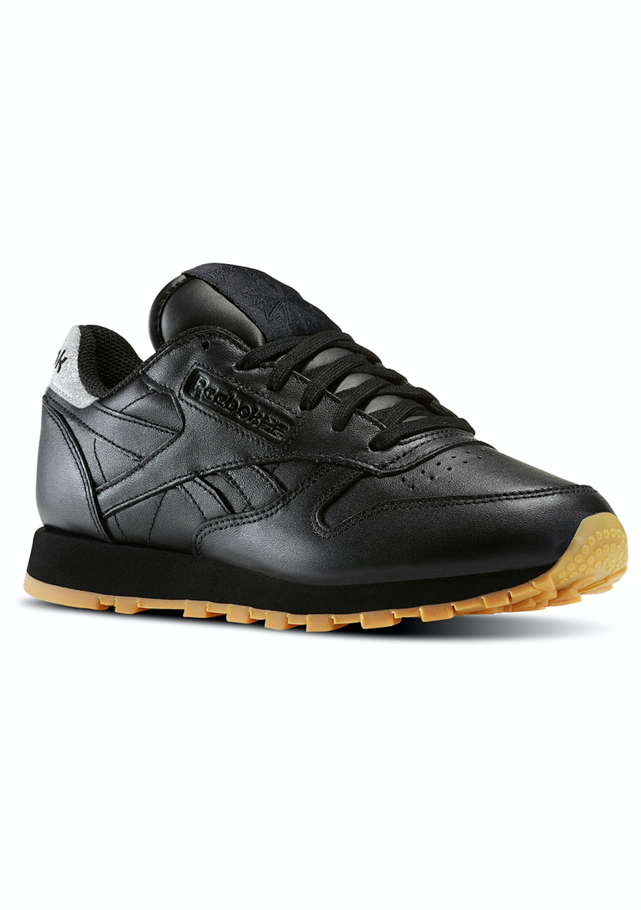 Reebok Womens - Classic Leather Met Diamond Black Gum - Last Ones Shoes -  Onceit b2b1ba04dd