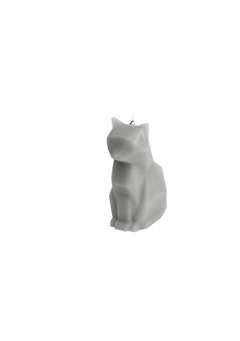 Pyropet -  Kisa Candle - Light Grey