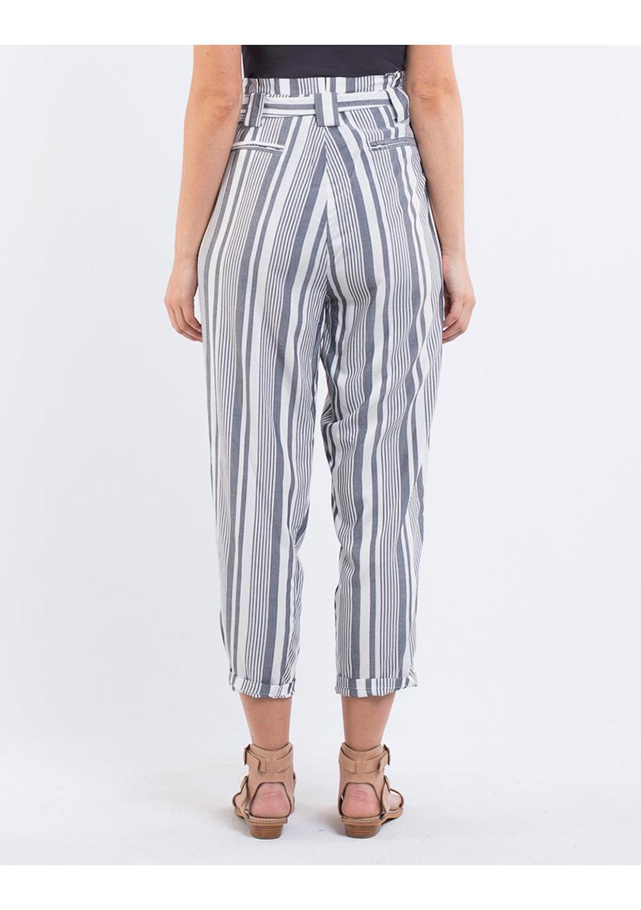 f77d6d7437f Jorge - Straight Up Pant - Stripe - Womens Garage Sale - Onceit