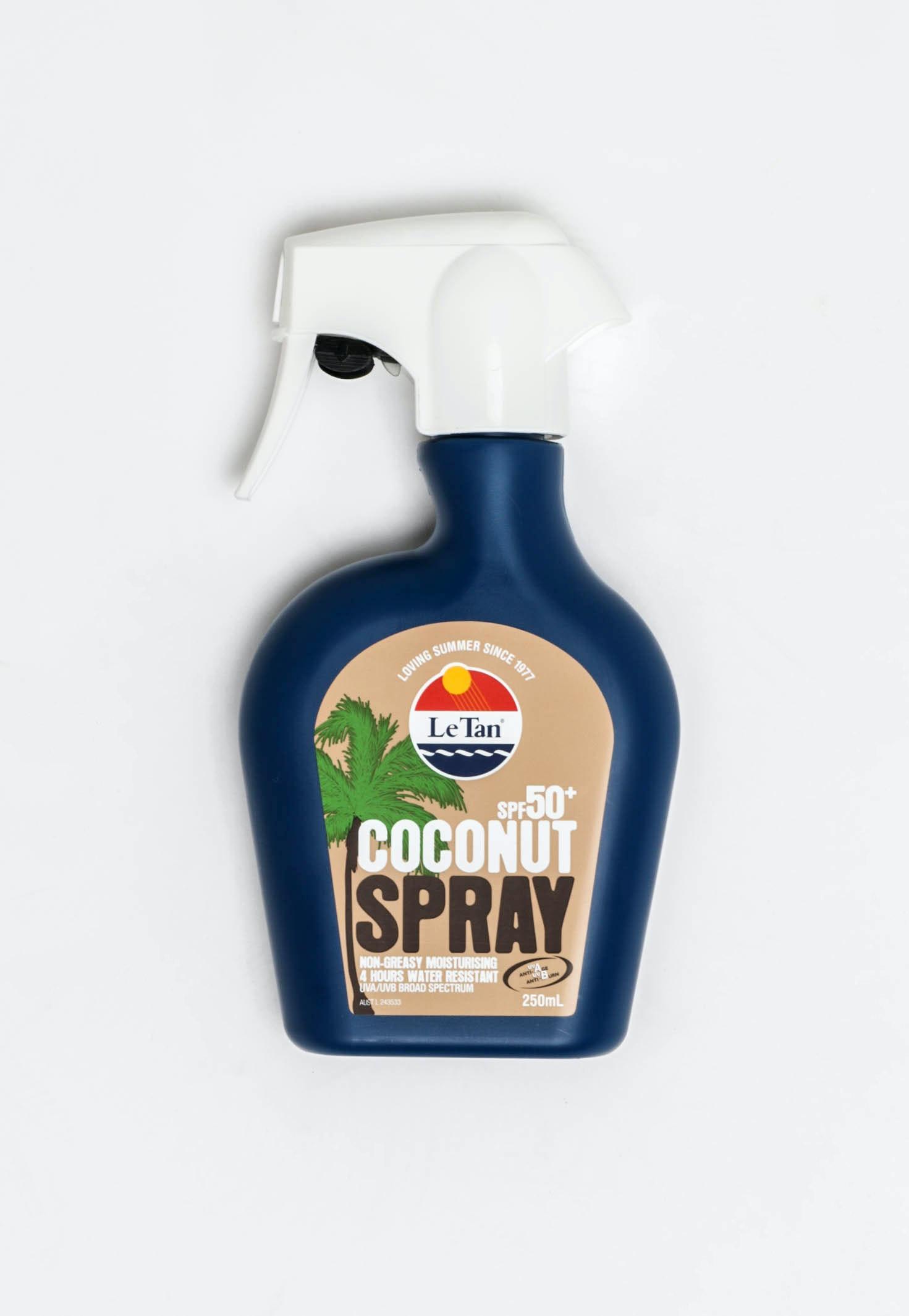 Le Tan Coco Spray 250ml SPF 50+