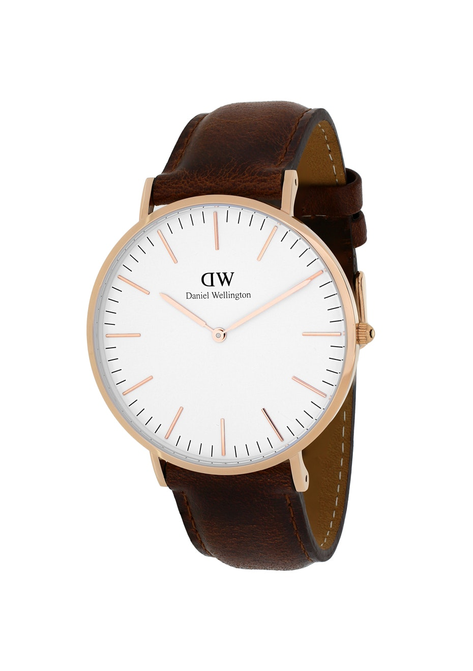 Daniel Wellington Men's Classic St Mawes - White - Brown