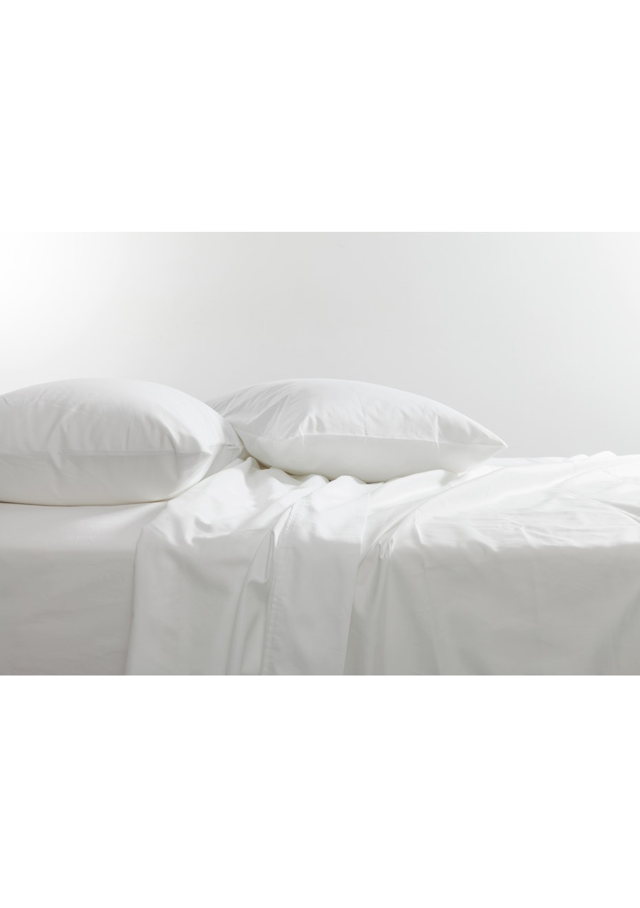 Canningvale - Palazzo Royale 1000 Thread Count Premium Blend Sheet Set Queen Bed Crisp White