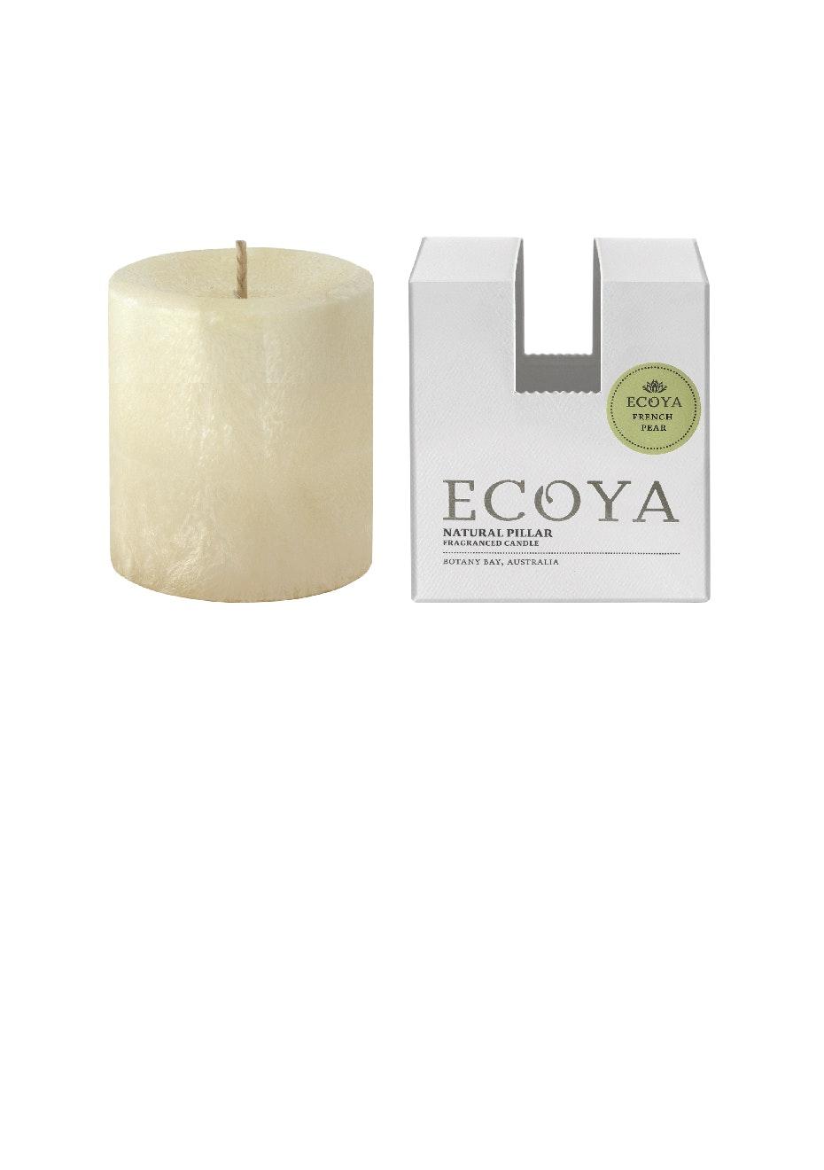 Ecoya - Pillar 75x85 Natural - French Pear