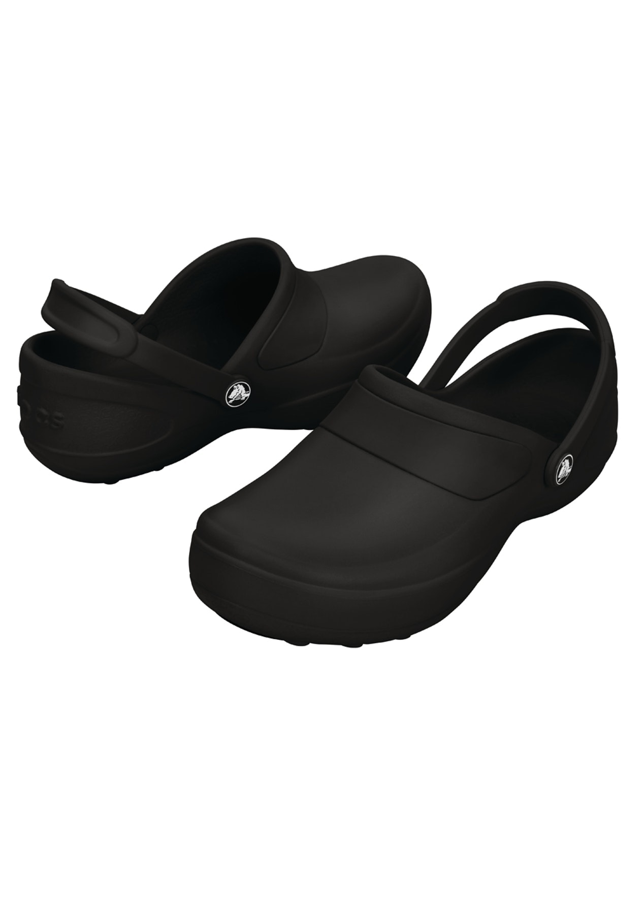 a02c246b9 CROCS - Womens Mercy Work - Black Black - Under  60 Shoes - Onceit