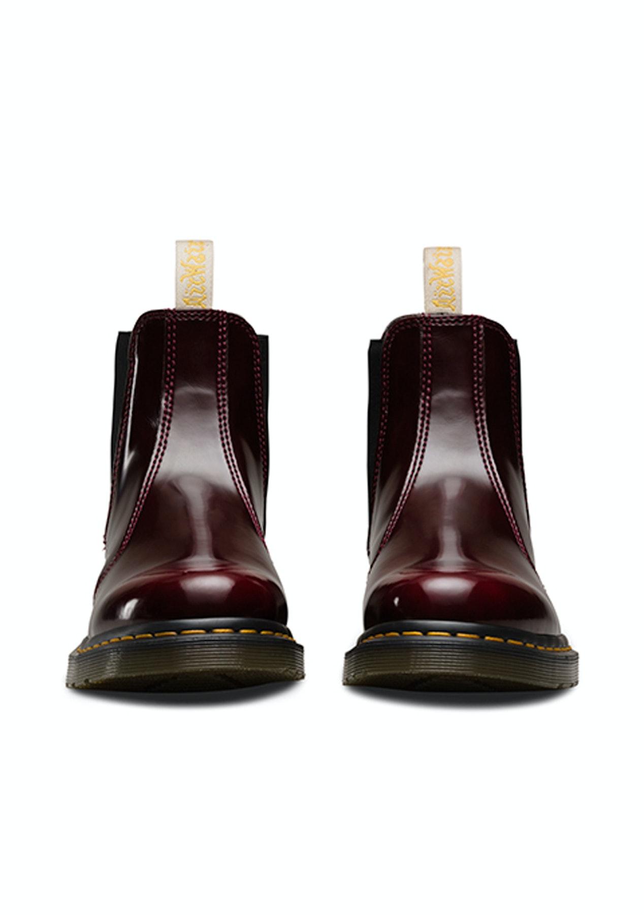 ca902de8 Dr Martens - 2976 Vegan Chelsea Boot - Cherry Red - Dr Martens - Onceit