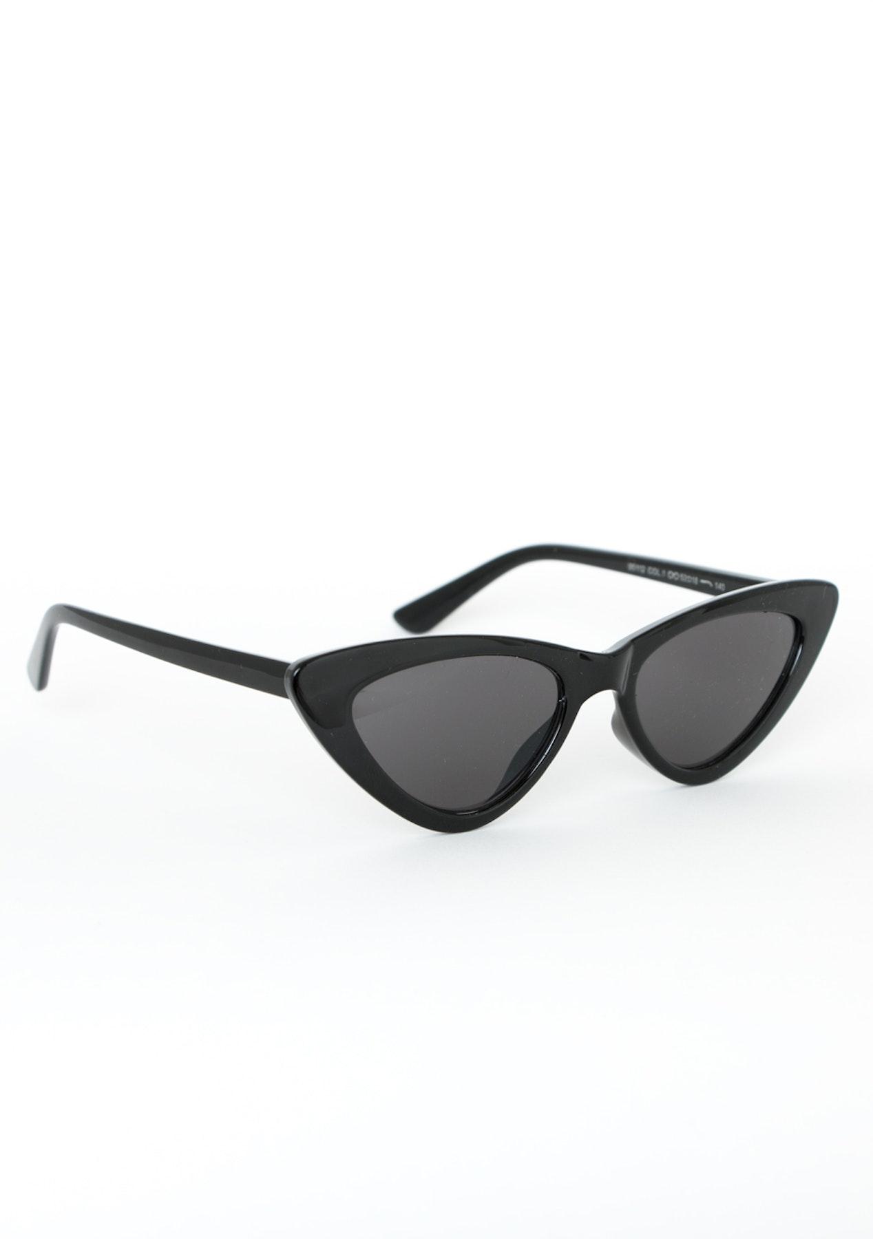 b72494dfda0 Extreme Cat Eye - Black - Eyewear Clear Out - Onceit