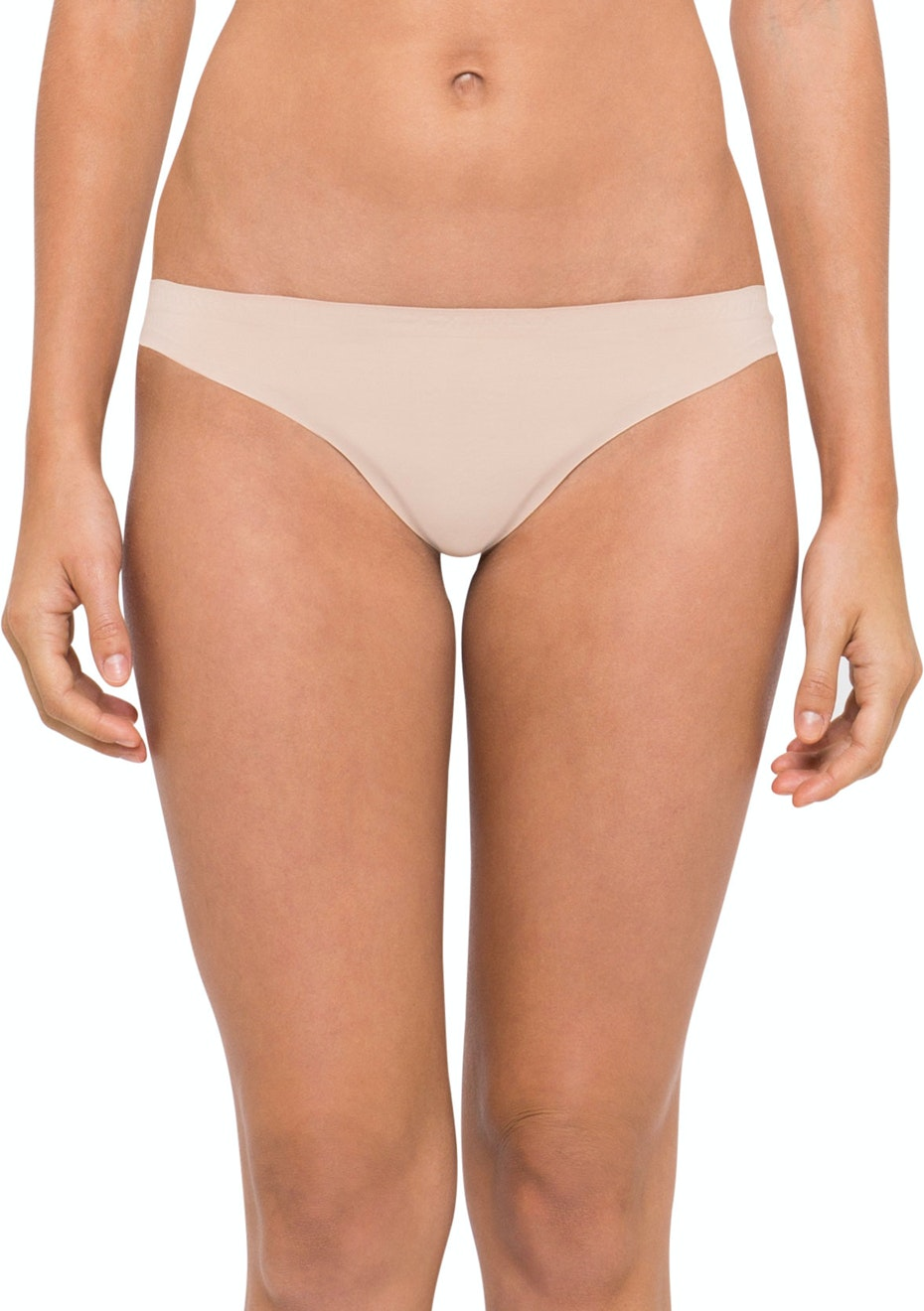 Calvin Klein  - PERFECTLY FIT, THONG  - BARE