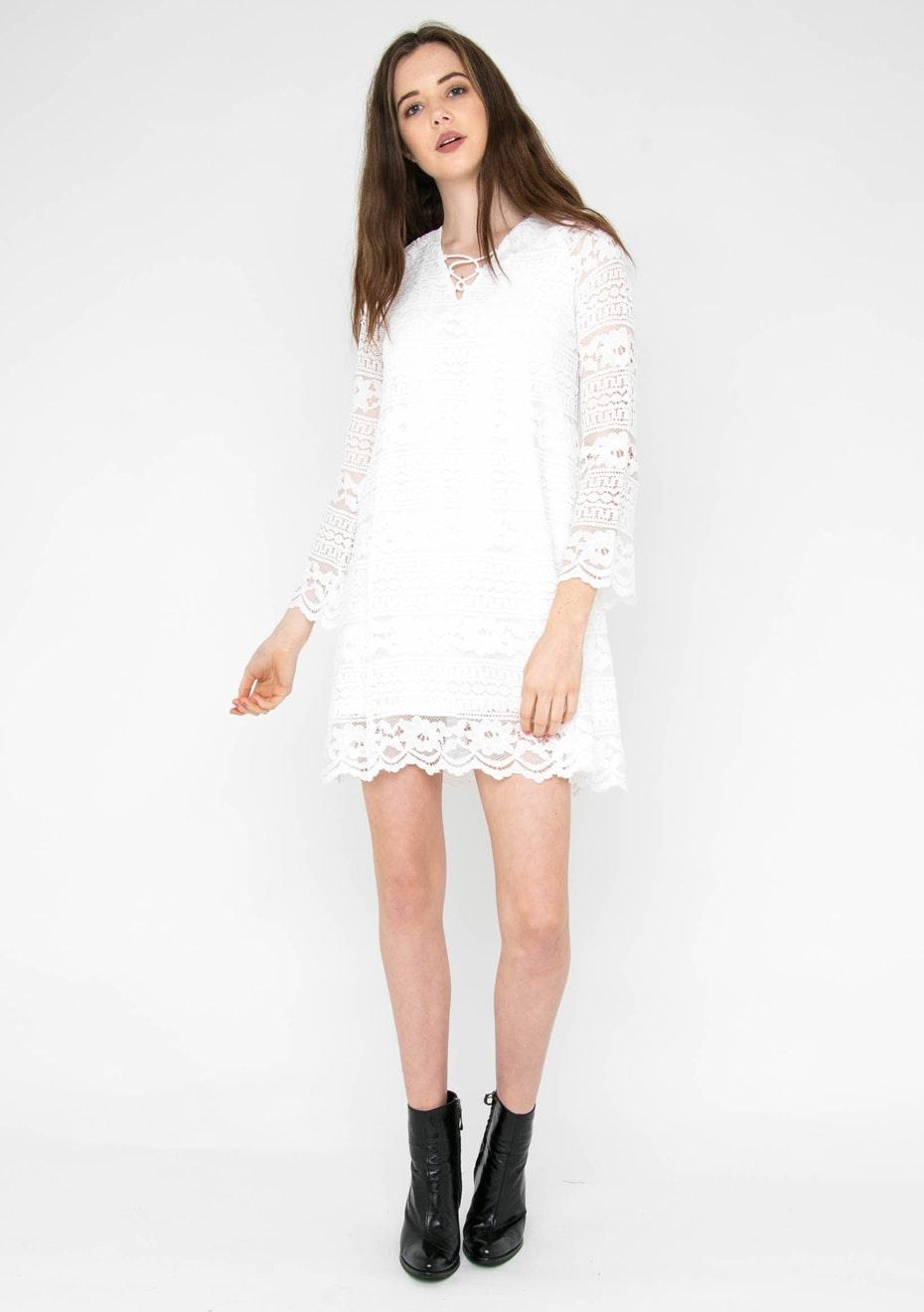 Jorge -  Dress Cutie - White