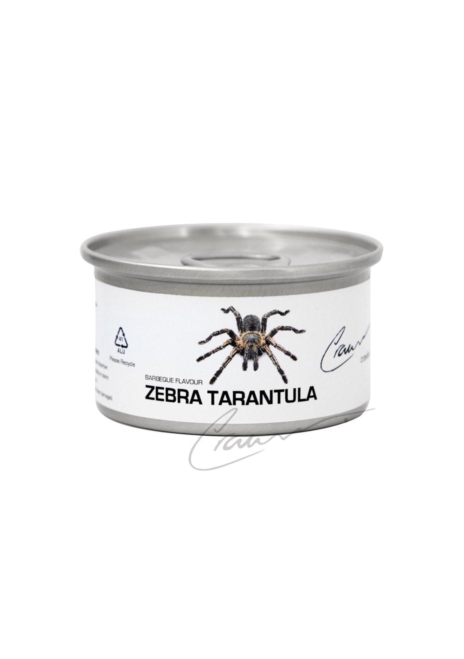 Crawlers - Canned Zebra Salted Tarantula