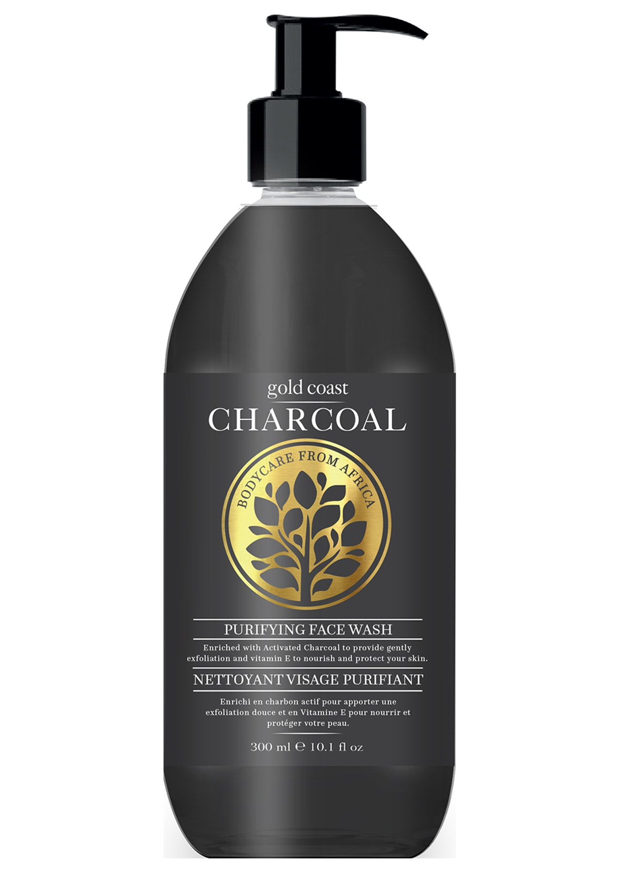 Gold Coast Charcoal Face Wash 300ml