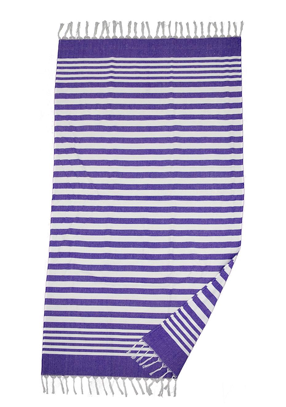 Turkish Beach Wrap Purple