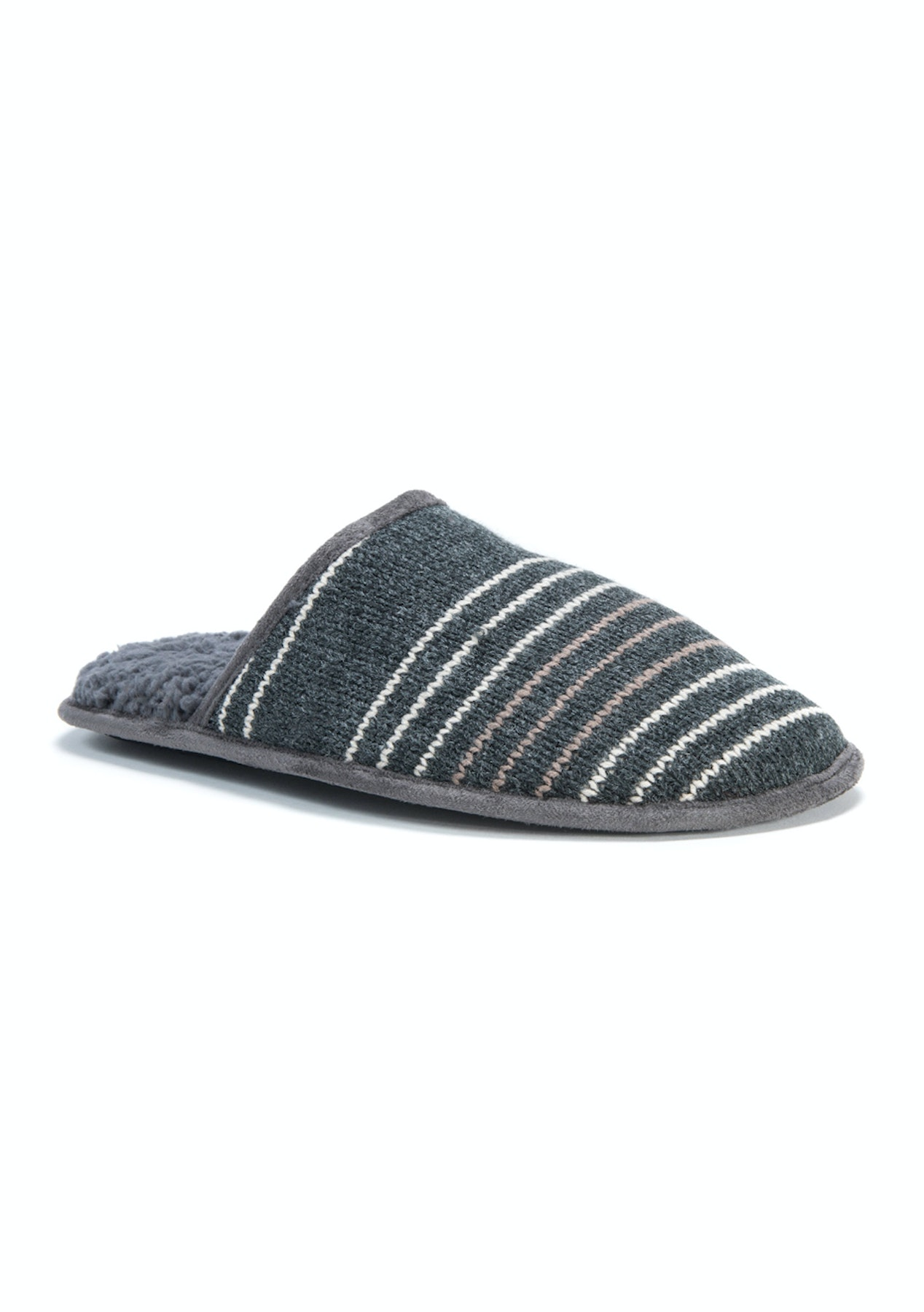 7536919c5c4 Muk Luks - Men s Gavin Slippers - Grey - Grey - Cozy Slippers for the Whole  Family - Onceit