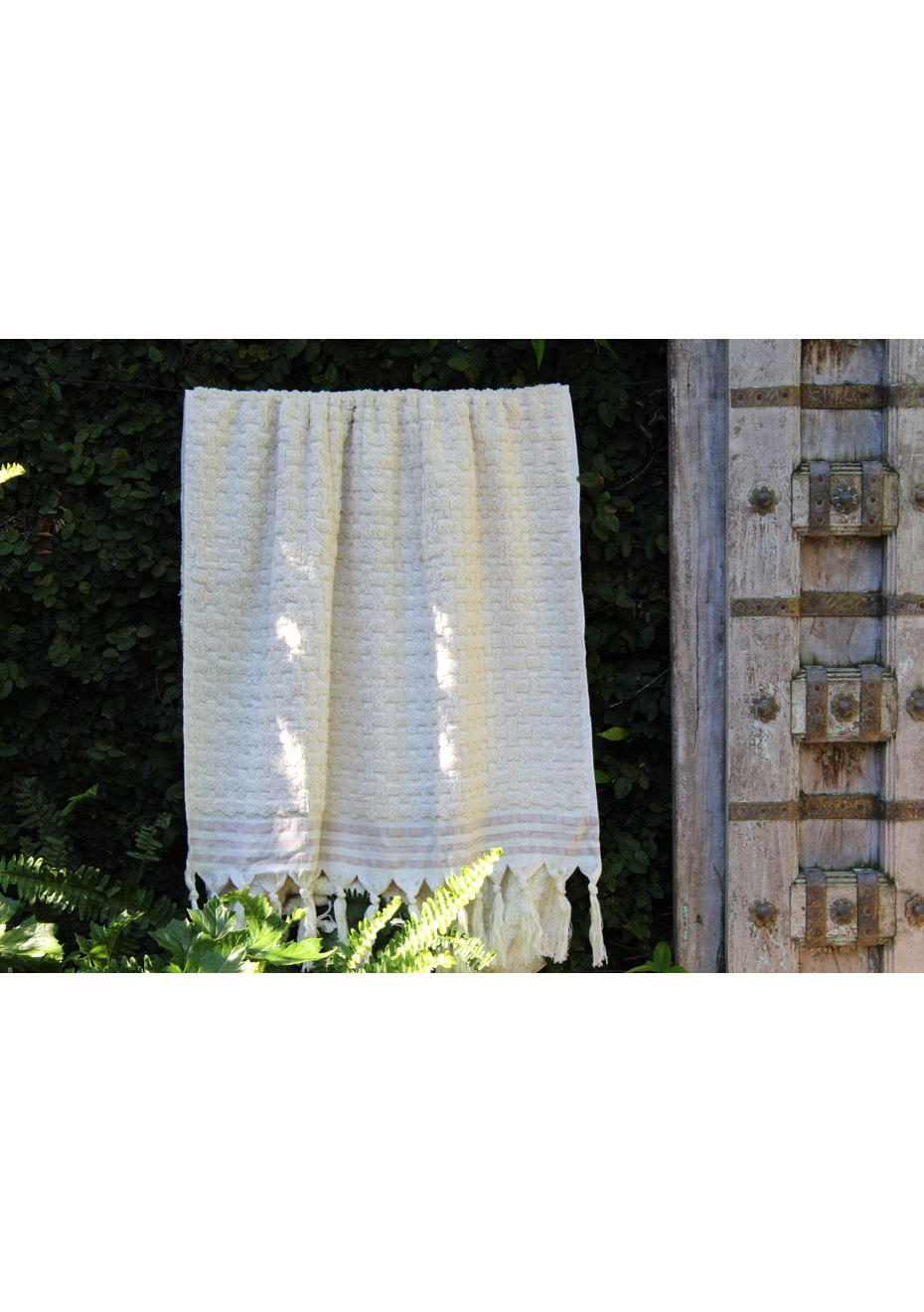 Brick Natural Cotton Terry Towel