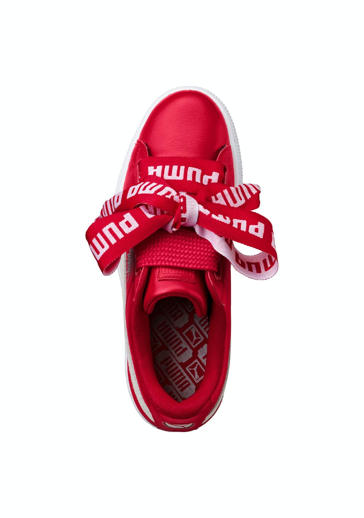 classic fit 0fcd8 dd34a Puma Womens - Basket Heart De Toreador Red