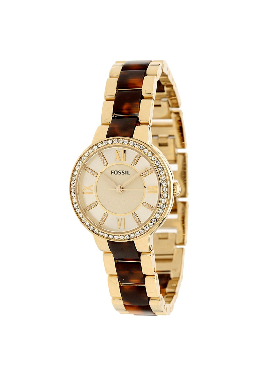 Fossil Women's Virginia - Gold tone/Two-tone tortoi
