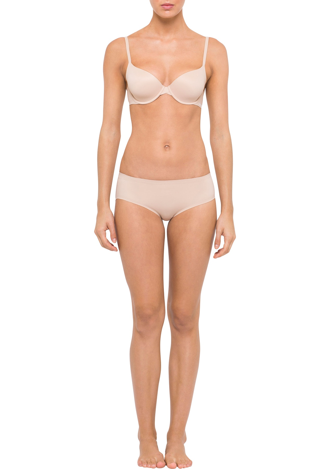 Calvin Klein  - PERFECTLY FIT, MODERN T-SHIRT BRA - BARE