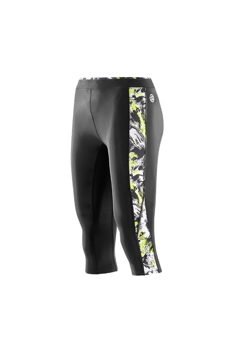 Skins -  A200 Back/Acid Print 3/4 Tight - Womens