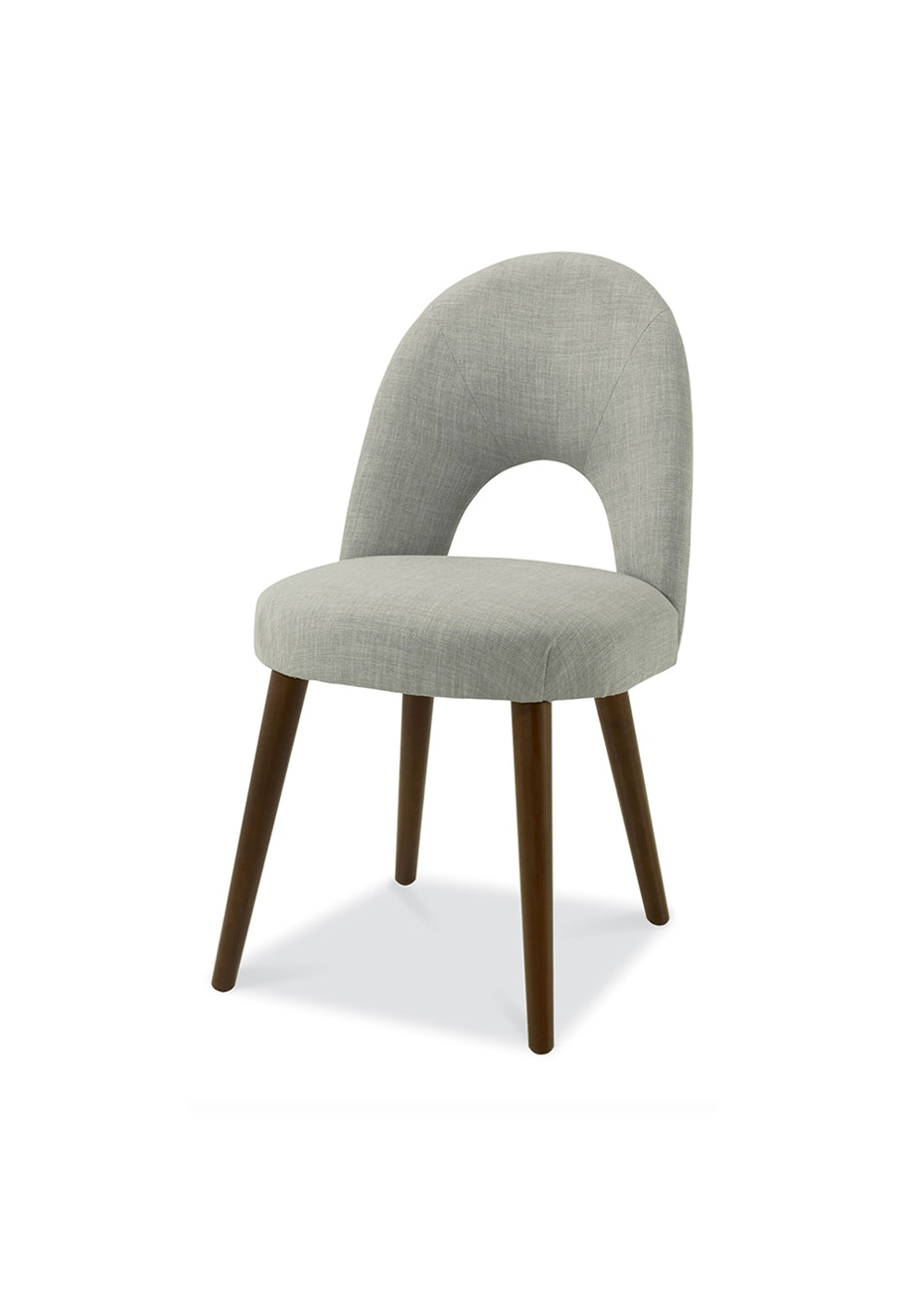 Furniture By Design - Oslo Chair- Walnut and Linen
