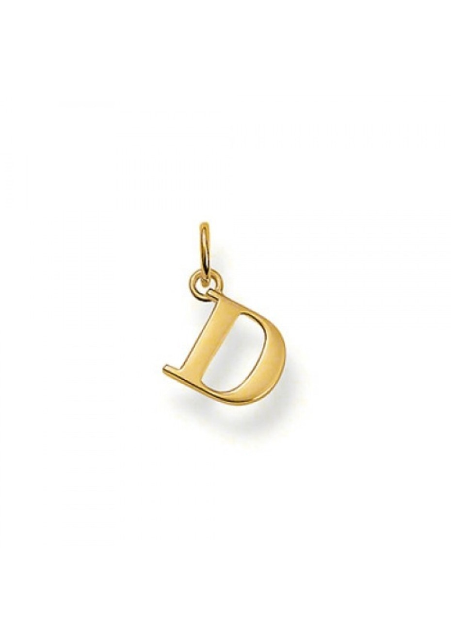 Thomas Sabo  - D' Pendant - Yellow Gold Plated