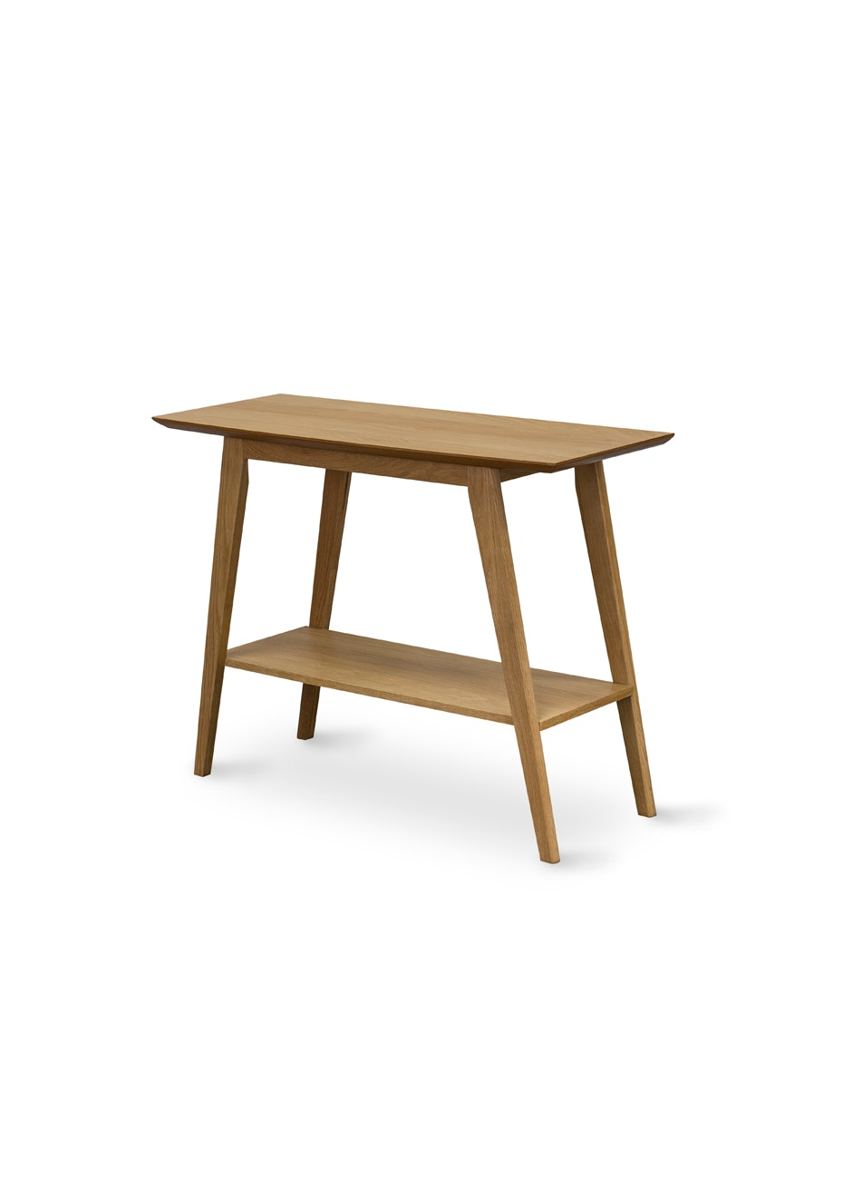 Furniture By Design - Milano Console Table w/Shelf- Light Oak
