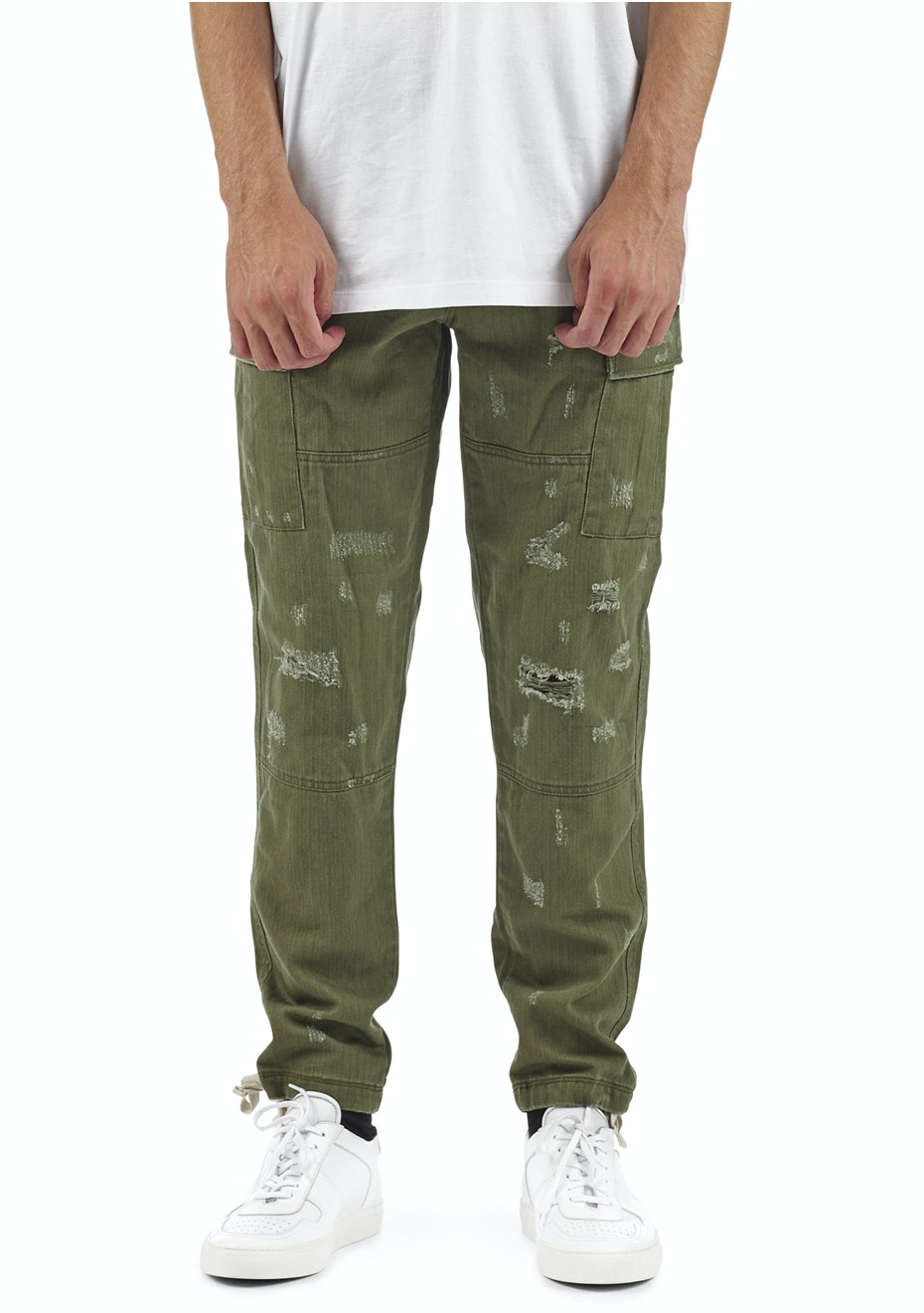 I Love Ugly - Cargo Pant - Army