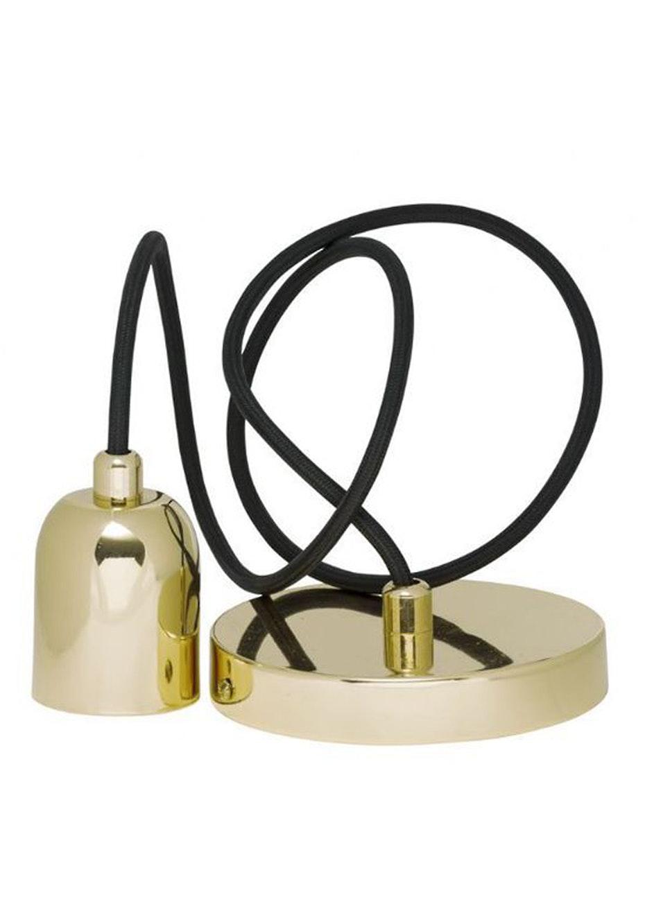 General Eclectic - Bulb Holder & Flex Brass