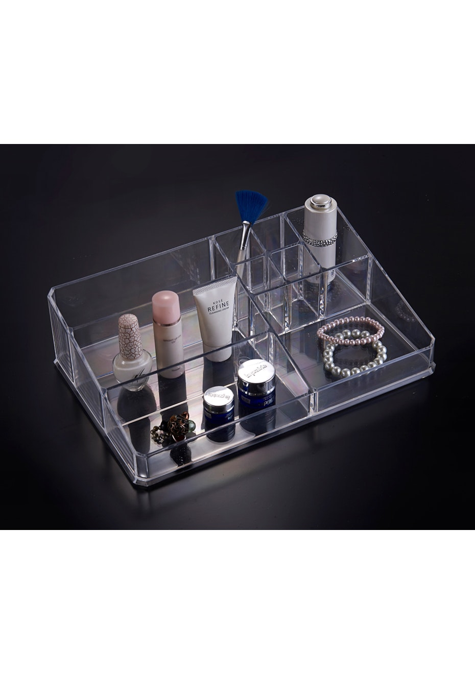 Cosmetic Organizer - 9 Section Multi