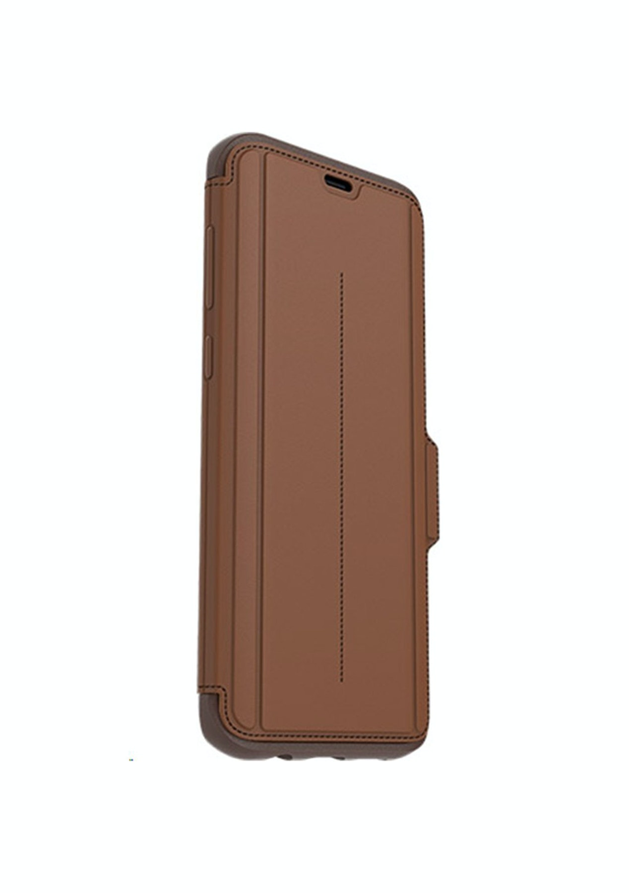 low priced d0a7d acf09 Samsung S8+ / S8 Plus OtterBox Strada Leather Folio Wallet Case - Tan