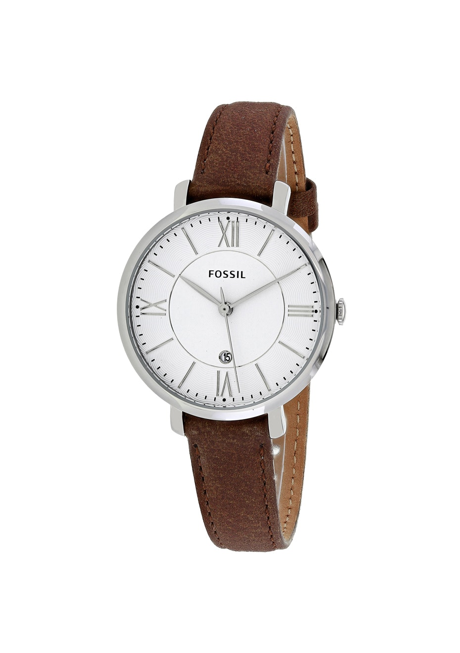 Fossil Women's Jacqueline - White/Brown