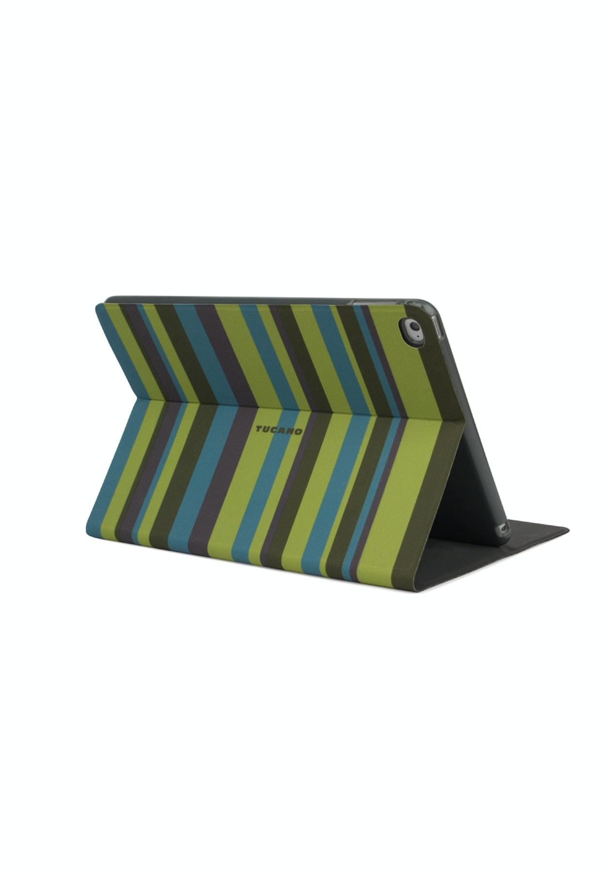 pretty nice 3b977 bbfe6 Tucano iPad Air 2 Angolo Stripe Case - Green