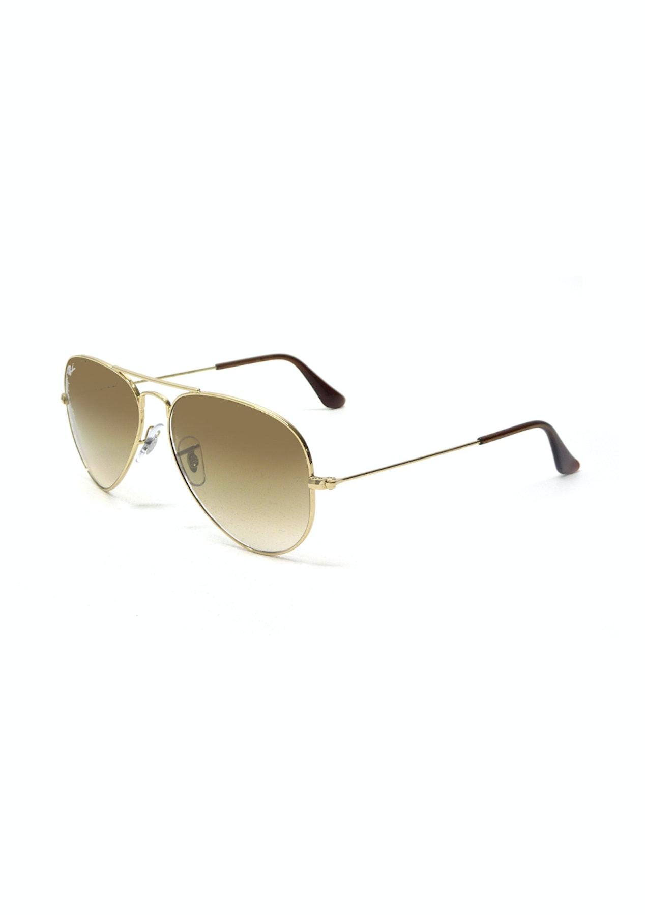 f306465b5b1 Ray-Ban - RB3025 001 51 55 - AVIATOR GRADIENT Gold - Big Brand Sunglasses -  Onceit