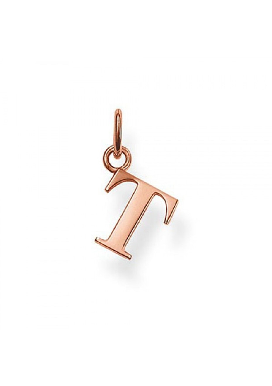 Thomas Sabo  - T' Pendant - Rose Gold Plated