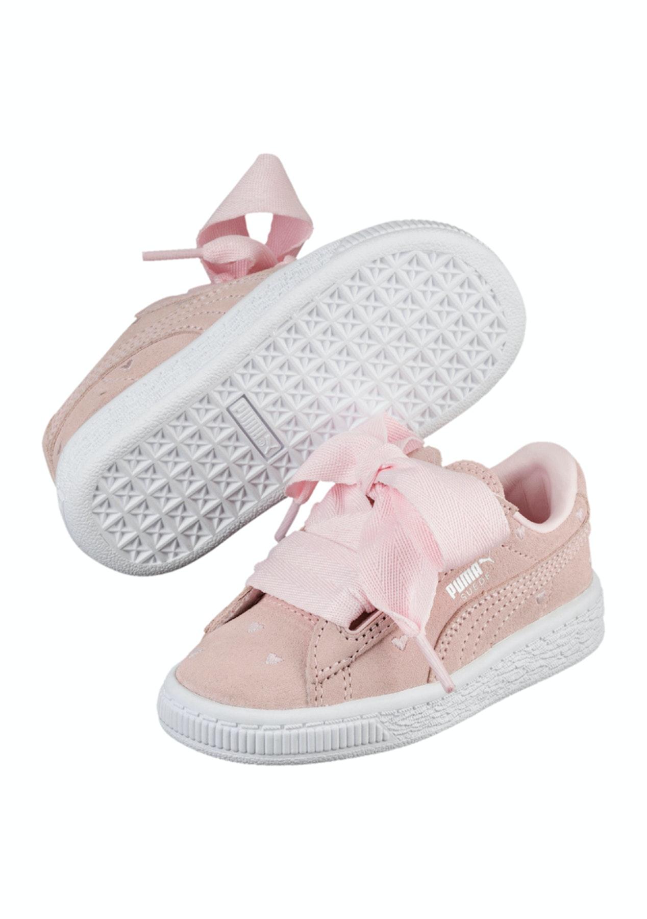 8d85d4692027 Puma Kids - Suede Heart Valentine Infants Pink - Puma Womens   Kids Up to  60% Off - Onceit
