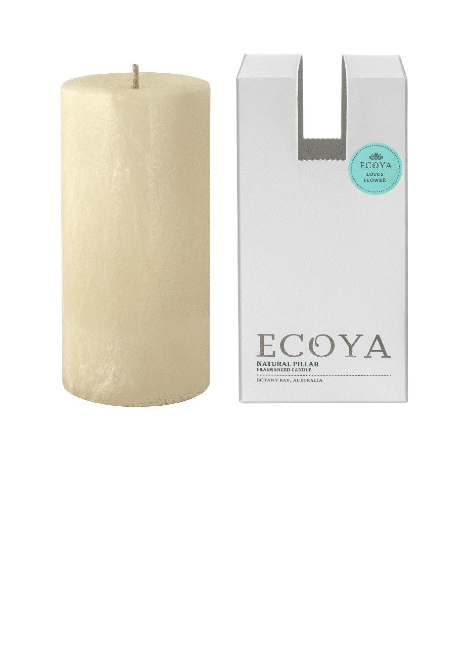 Ecoya - Pillar 75x155 Natural - Lotus Flower