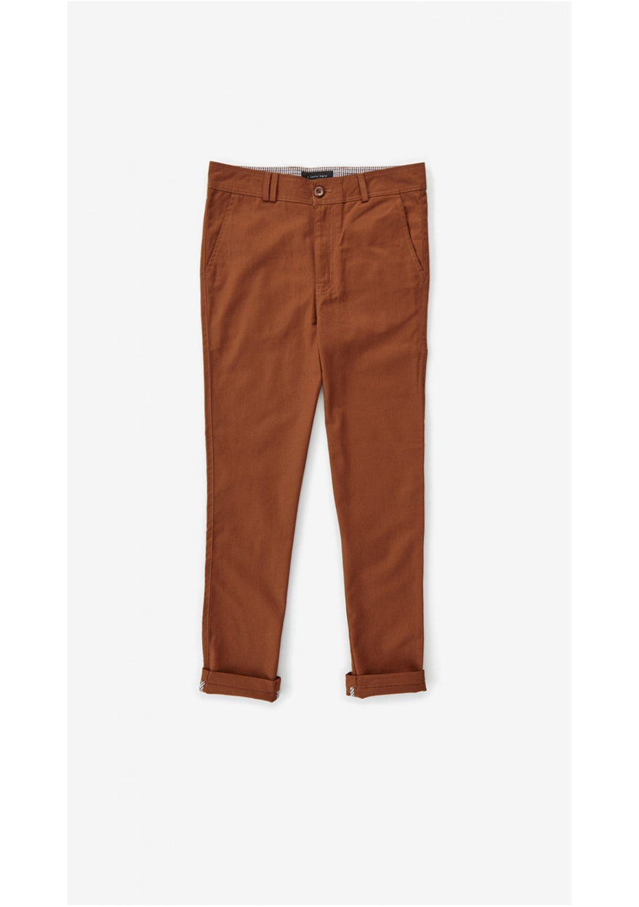 I Love Ugly - Jonty Pant Burnt Orange