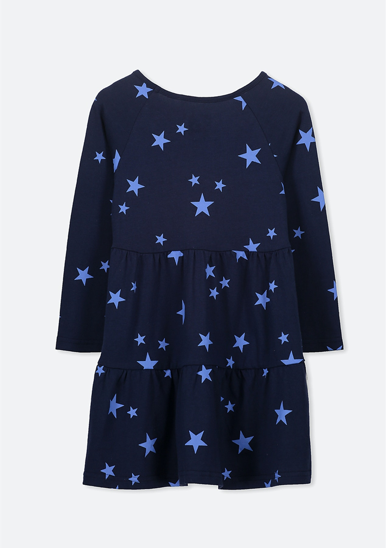 8fd1e580cdfa9 Cotton On Kids - Maddie Long Sleeve Dress/Peacoat/Marina Stars