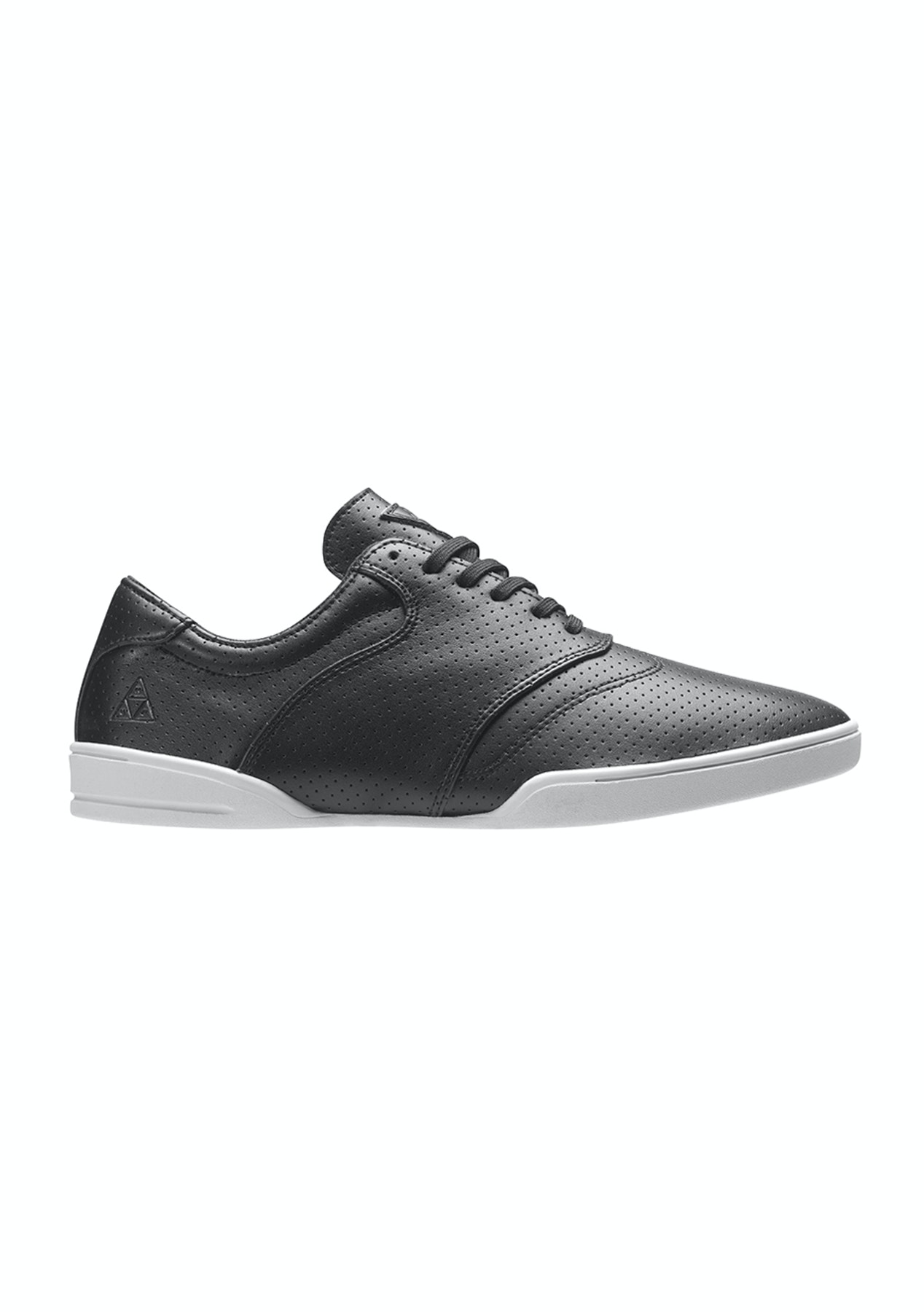 286f2522f5 HUF Dylan Shoe - Black Perf   Bone White - HUF Shoe Clearance - From  49.95  - Onceit