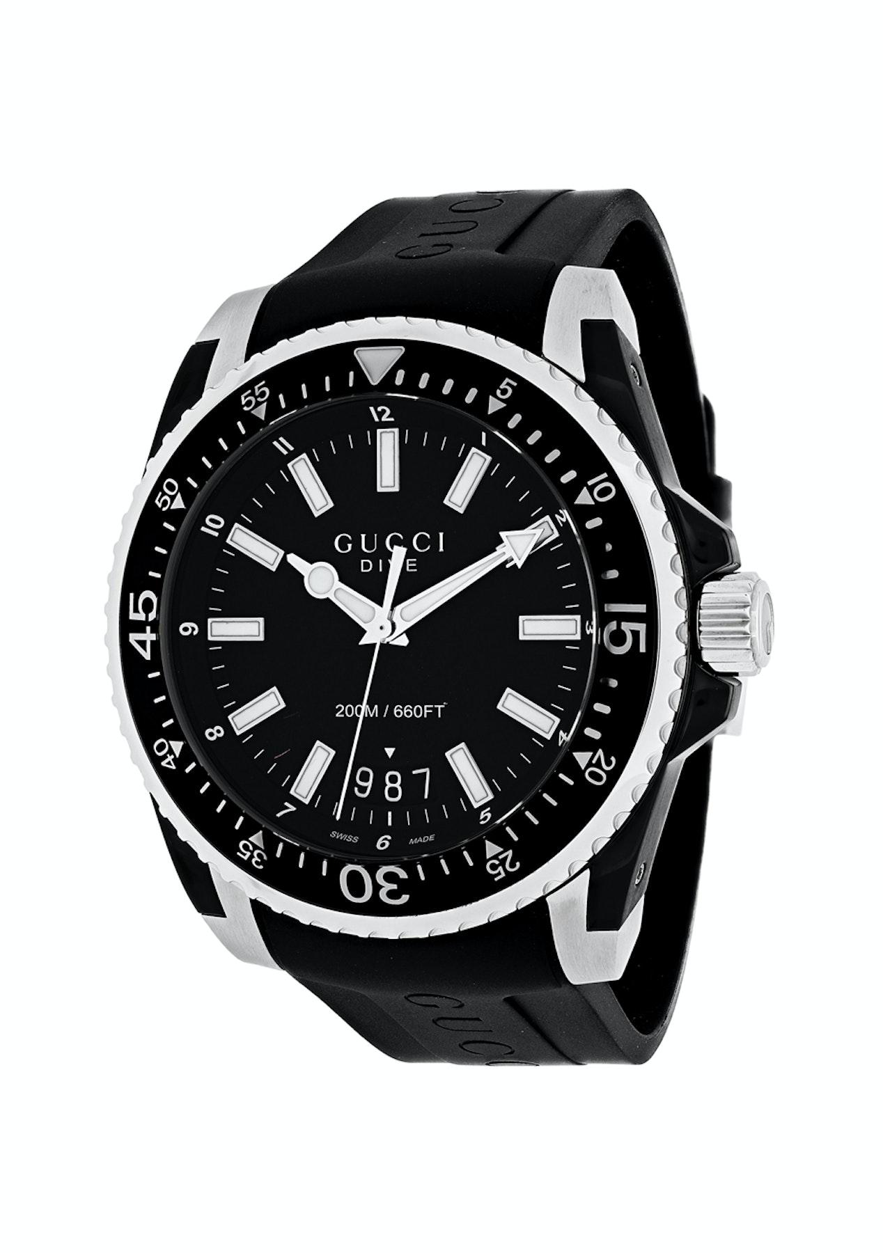 392830d7f64 Gucci Men s Dive XL - Black Black - DKNY