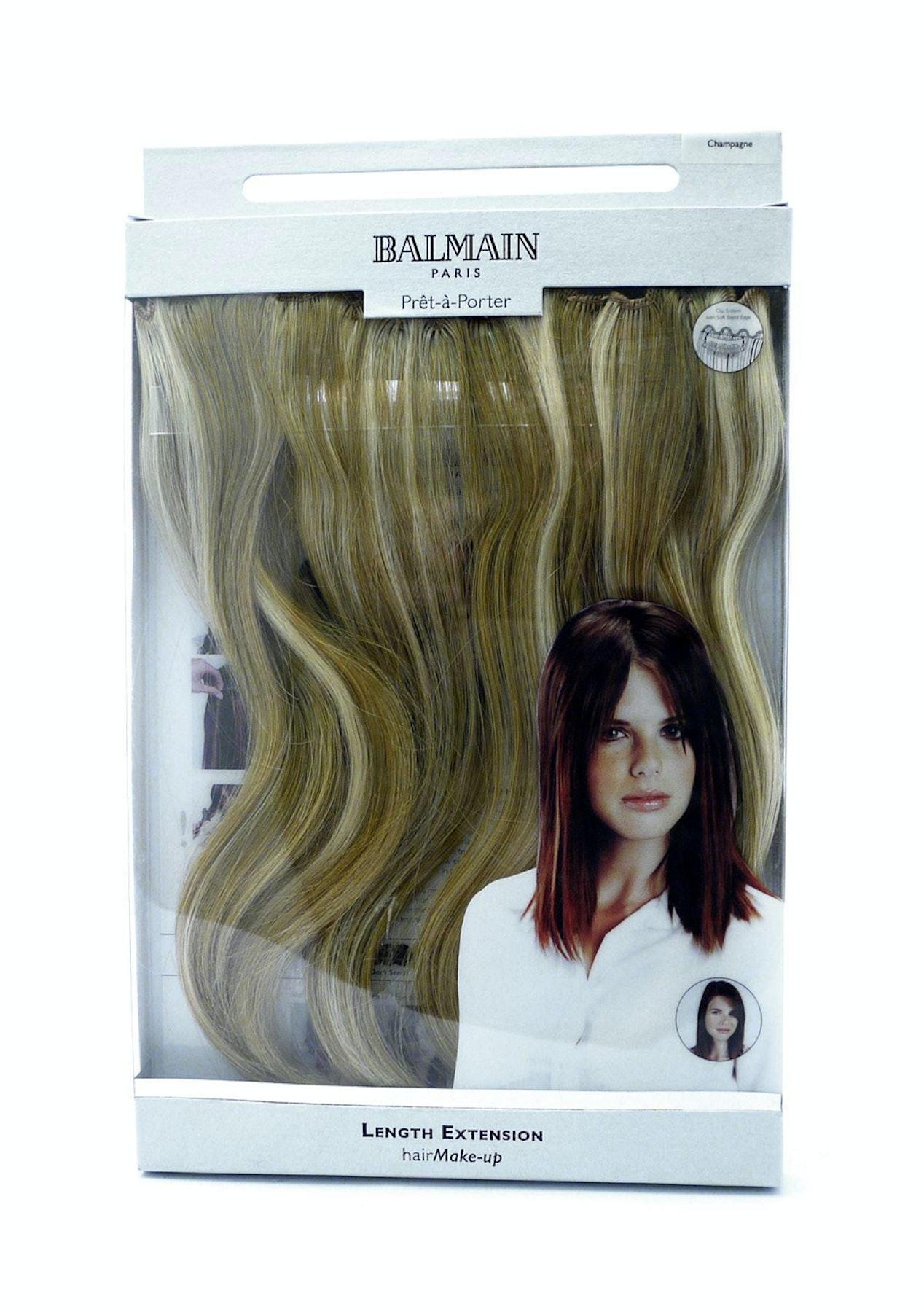 Balmain Hair Extension 3pc Champagne 25cm Haircare Warehouse Onceit