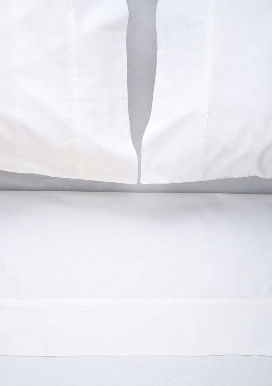 Città - Egyptian Cotton Flat Sheet - White