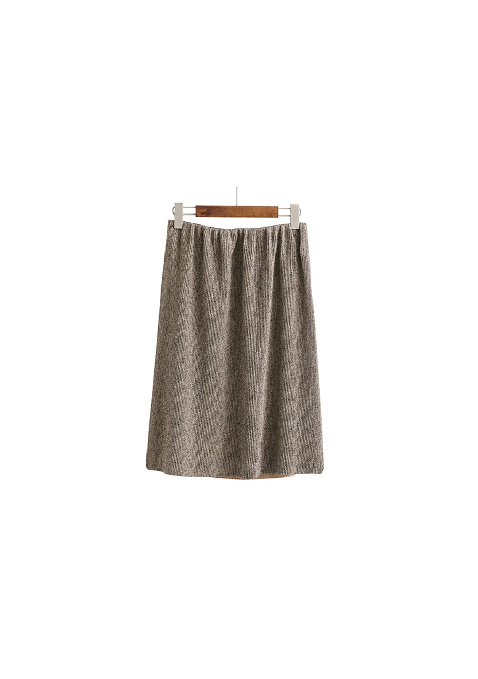 Dillan Knit Skirt  - Camel