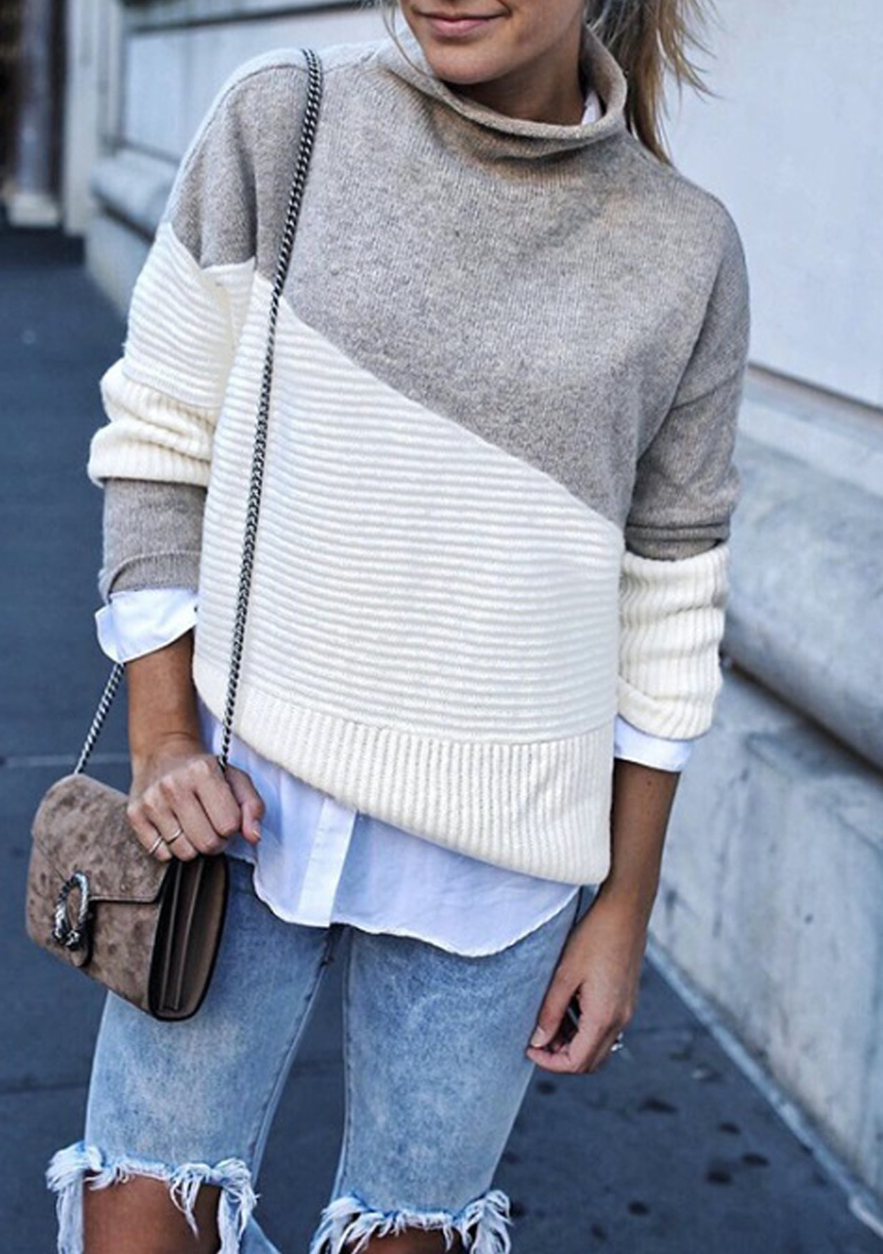 4837fa33bb2b Fashion Edit. - Hiro Jumper - Marle Grey - New For Autumn Under  50 - Onceit