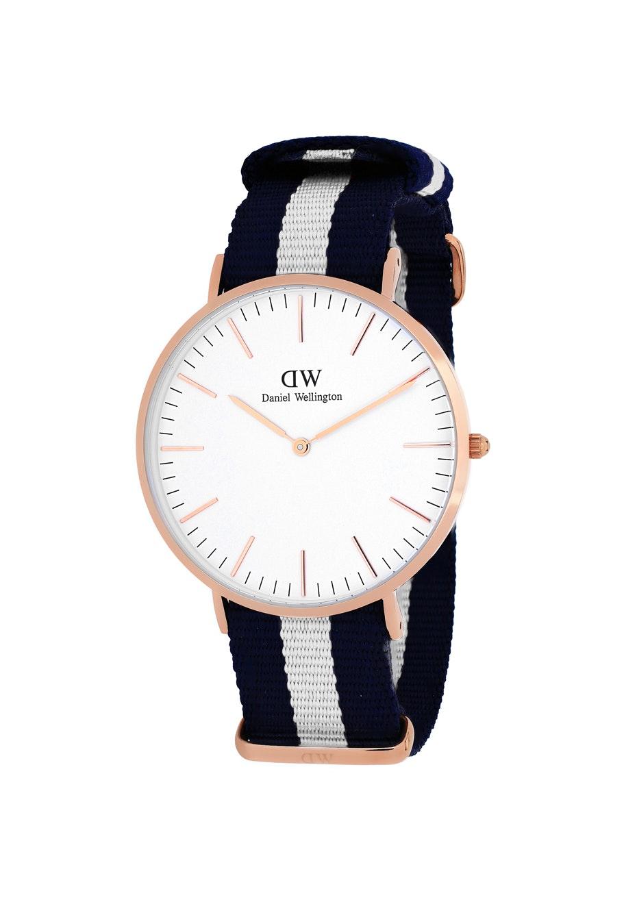 Daniel Wellington Men's Classic Glasgow - White/Two-tone Navy B