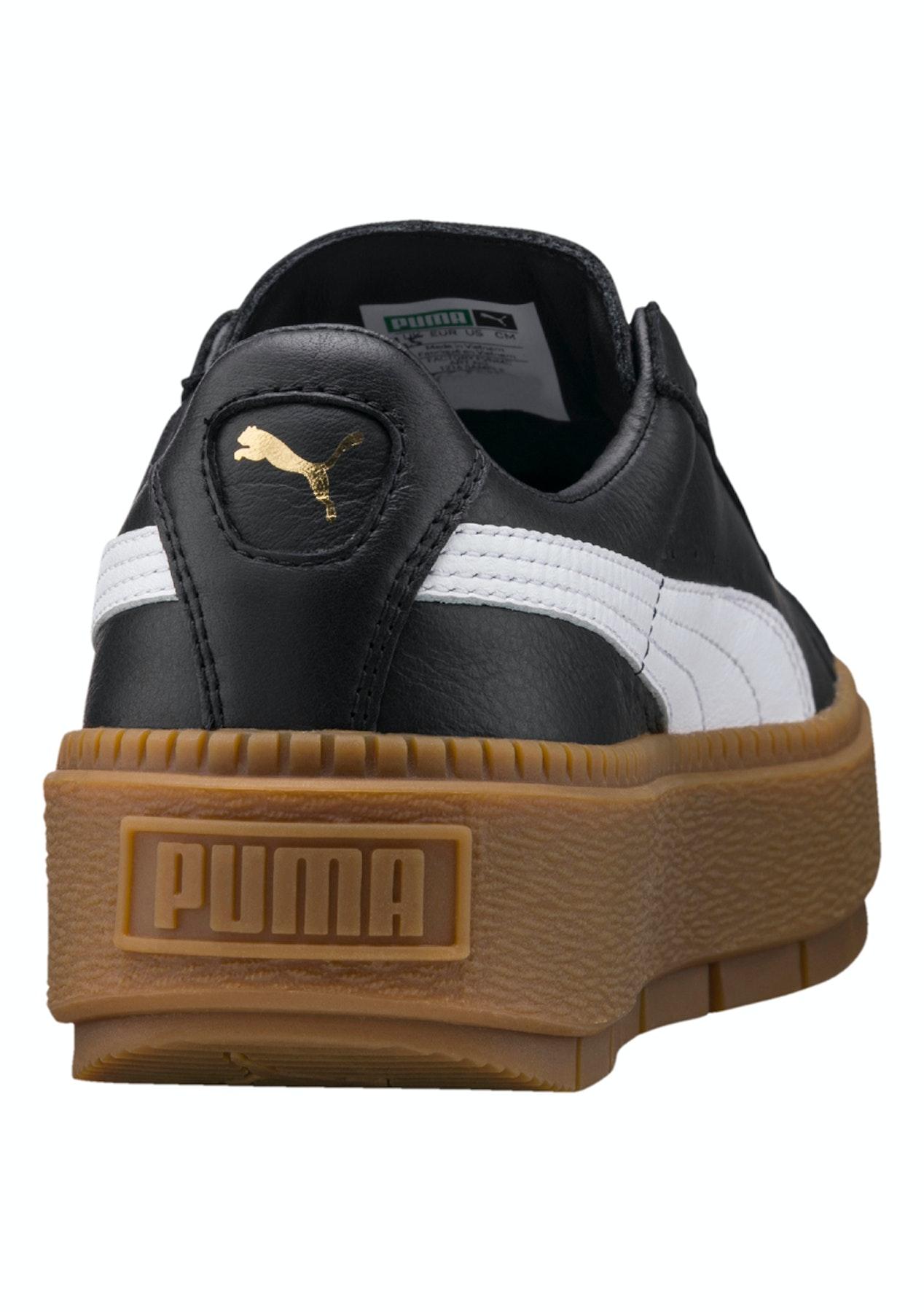 9927ea58cb6dee Puma Womens - Basket Platform Trace - Black - White - Massive Puma Discounts  - Onceit