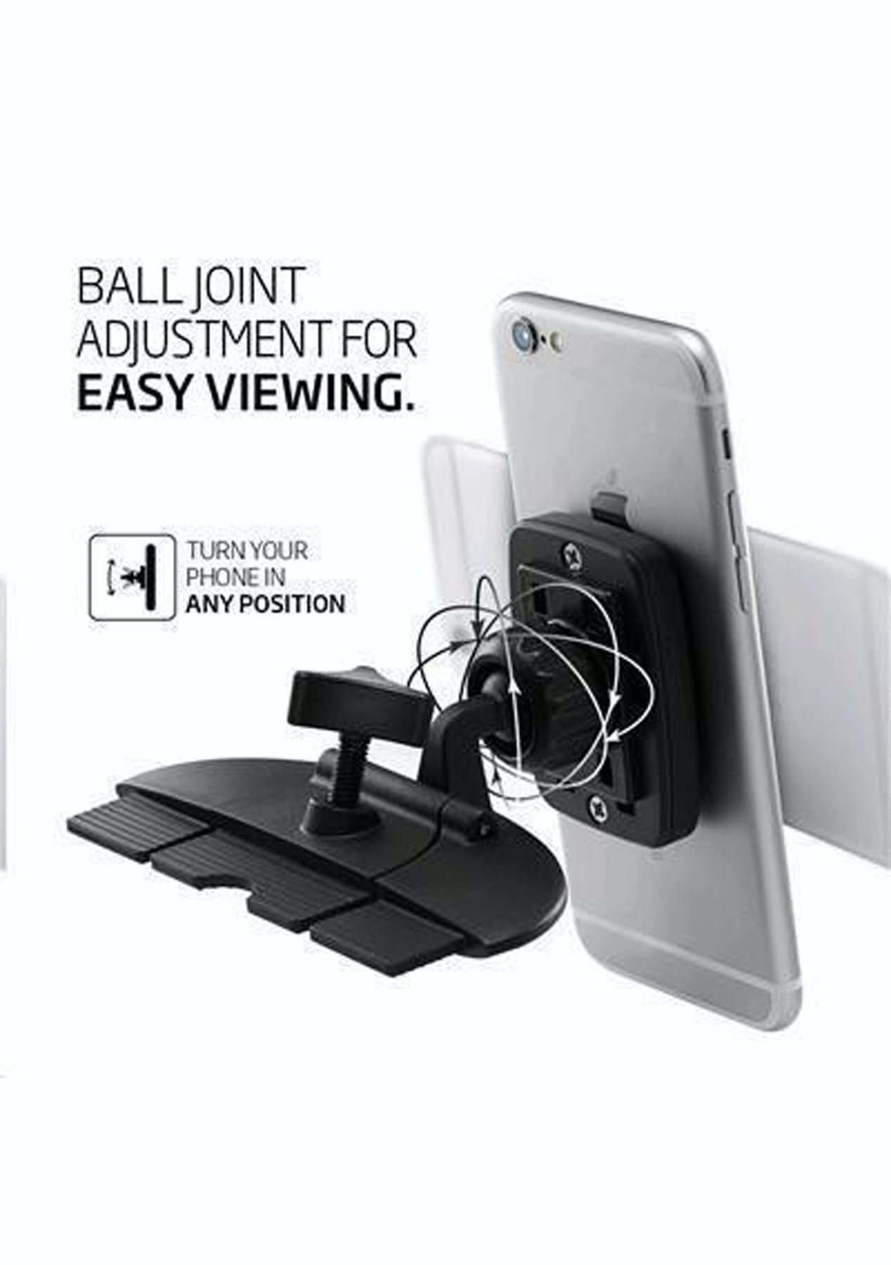 release date 40d63 868d1 Spigen CD Slot Premium Magnetic Phone Car Mount