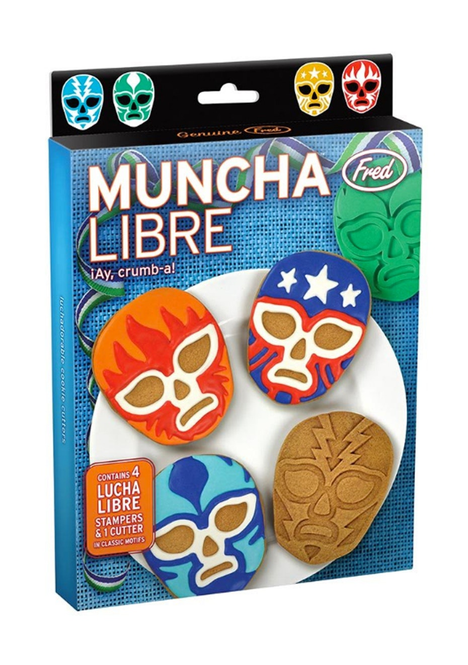 Muncha Libre Cookie Cutters